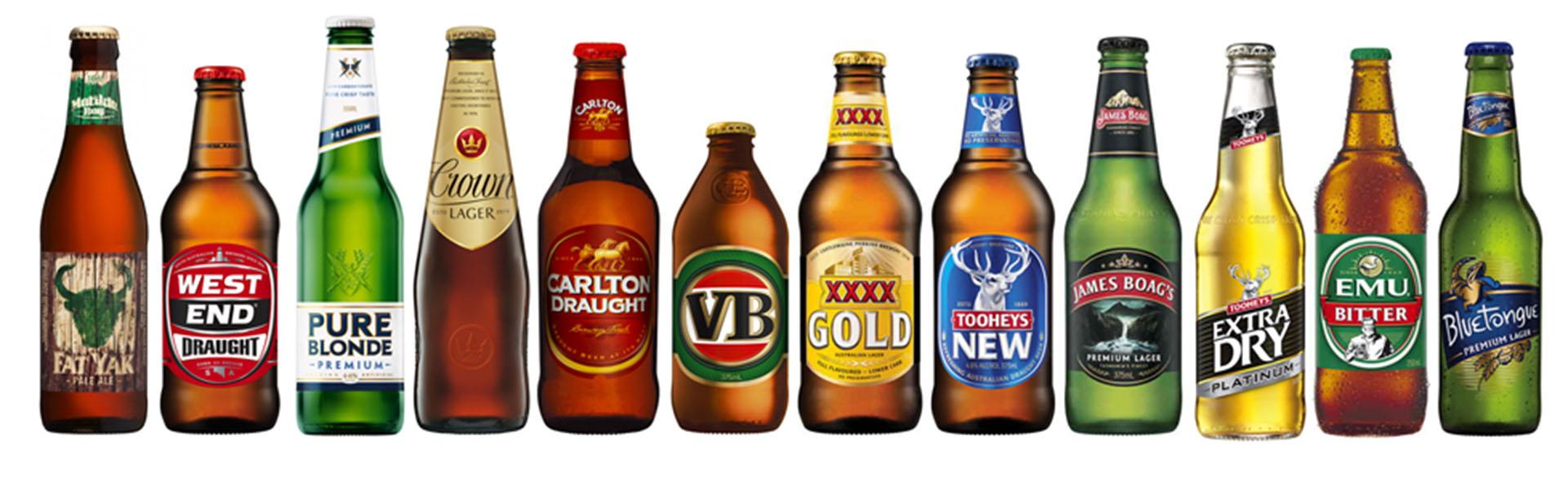 фото марок австралийского пива