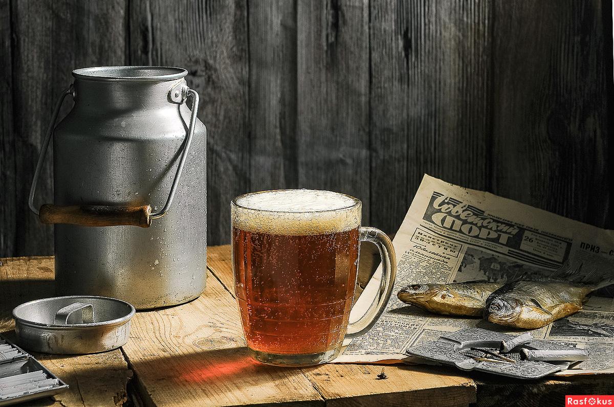 фото советского разливного пива из бидона