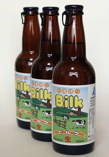 фото молочного пива Билк