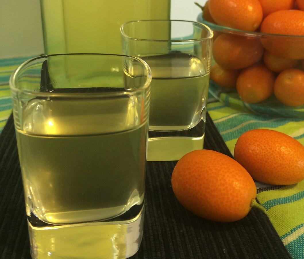фото домашней настойки кумквата на водке