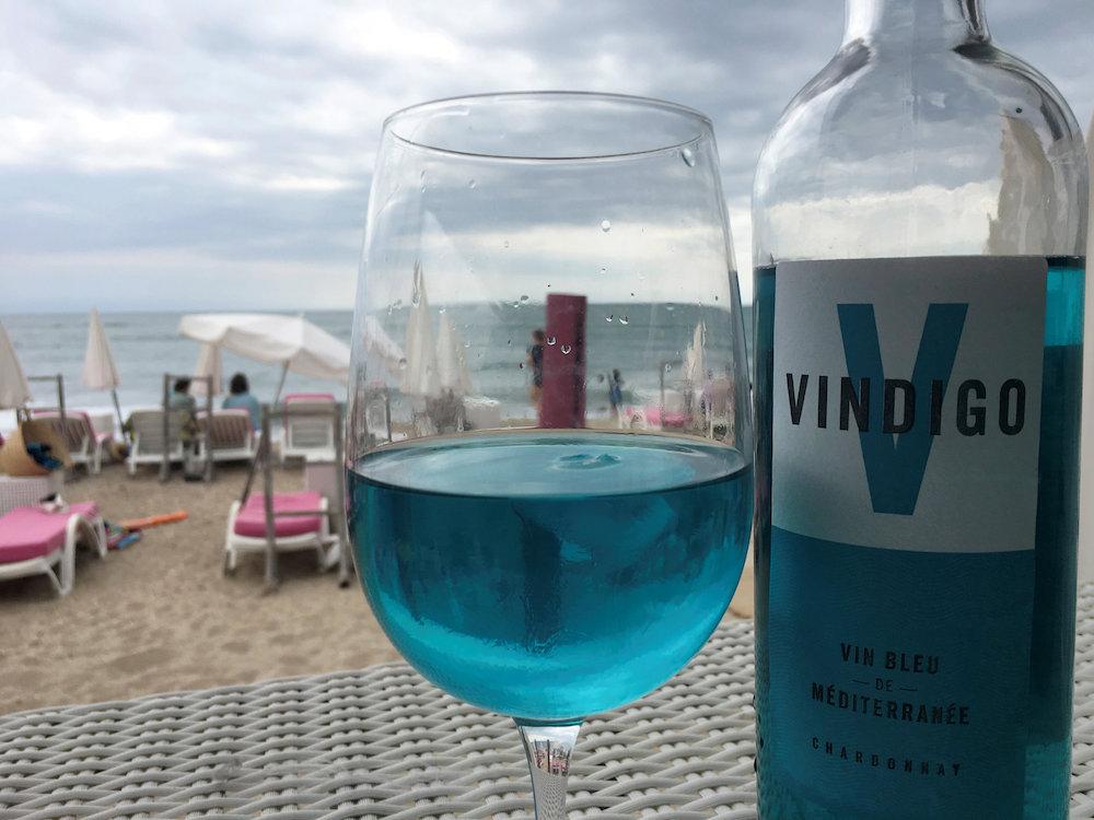 фото французского голубого вина Виндиго