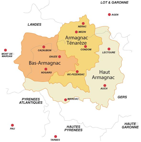 фото регионов производства Флок де Гасконь