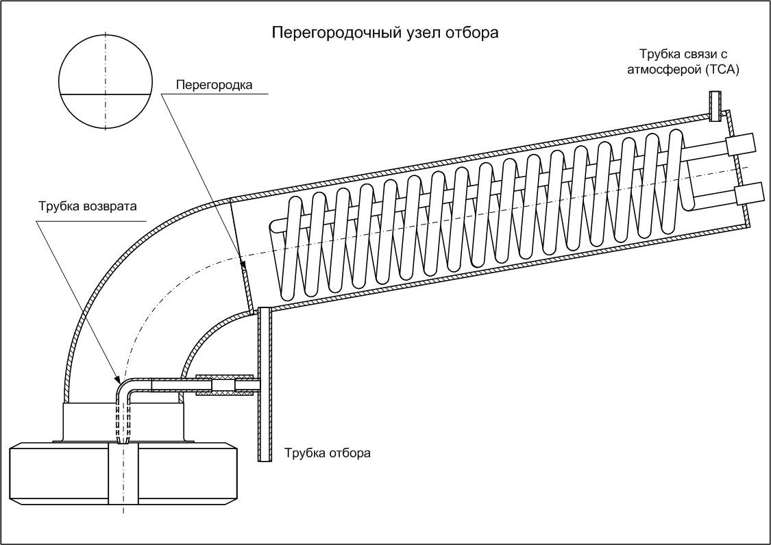 чертеж холодильника Димрота