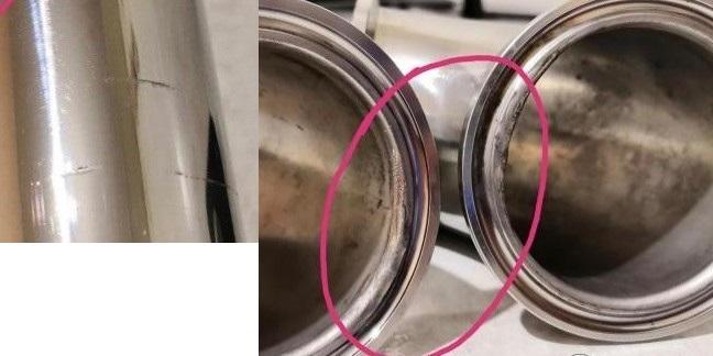 фото дефектов царги самогонного аппарата люкссталь 5