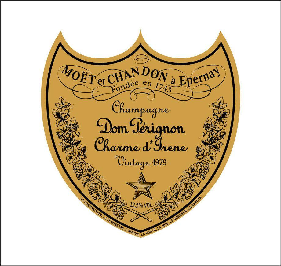 фото эмблемы шампансокго Дом Периньон
