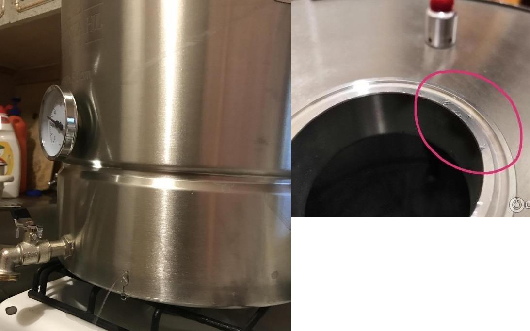 дефекты перегонного куба люкссталь 5