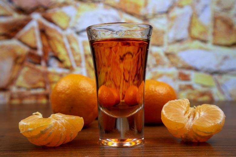 фото как правильно пить мандариновый ликер