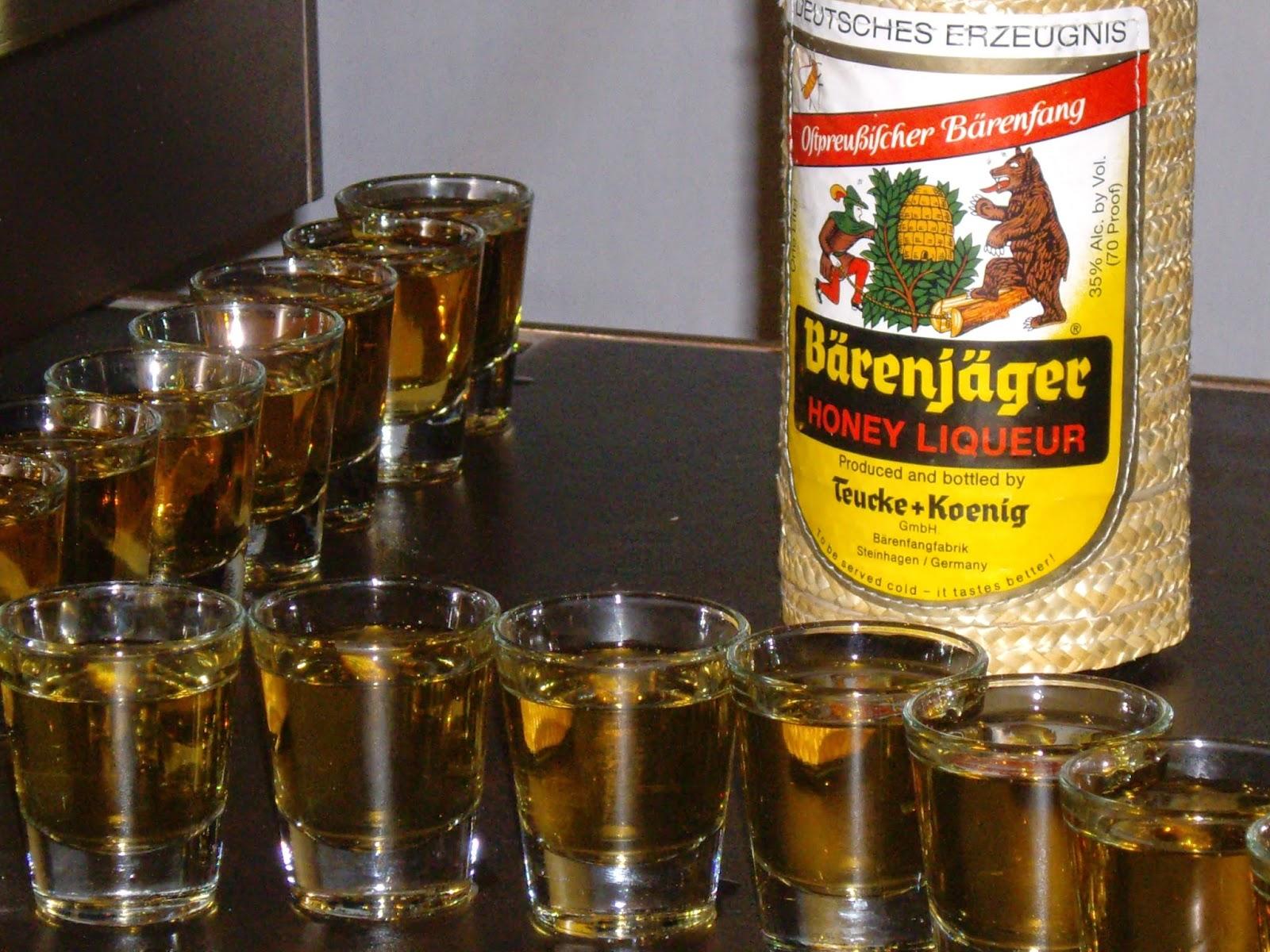 фото медового ликера беренфаг