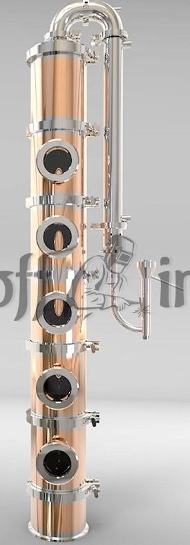 фото тарельчатой колонны флейта