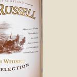 фото этикетки виски Glen Russell