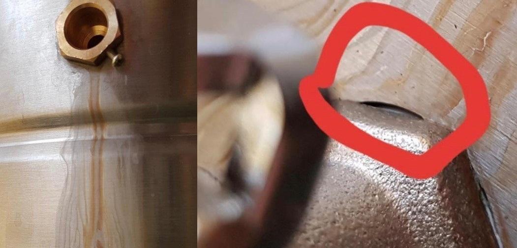 фото зазоров на кране для слива барды люкссталь 5