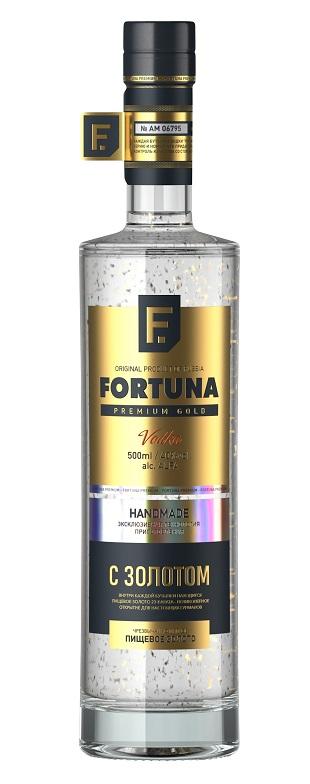 фото водки Fortuna Premium Gold