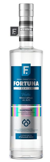 фото водки Fortuna Premium