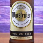 фото этикетки пива Варштайнер