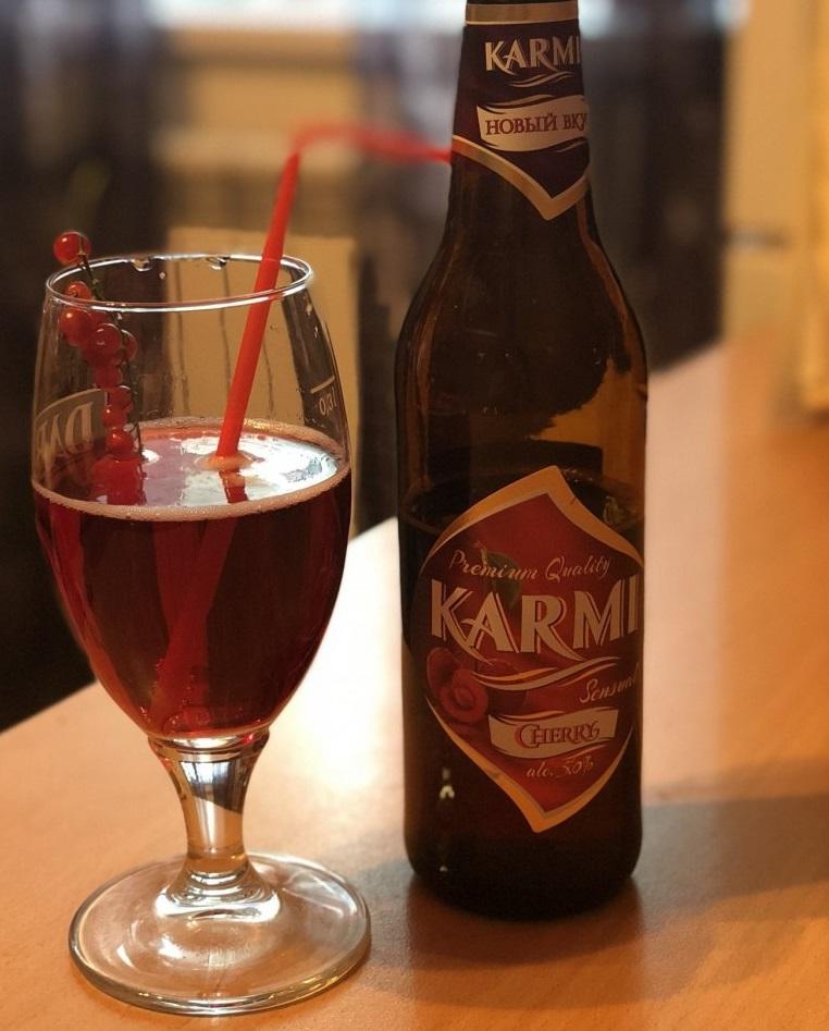 фото красного пива карми