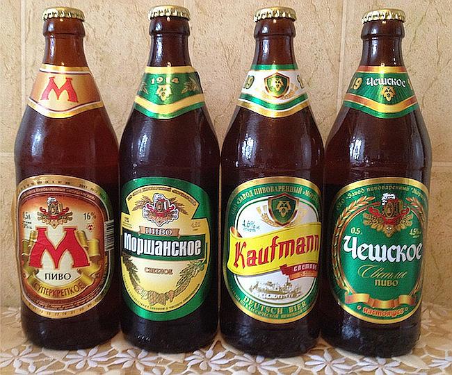 фото видов пива моршанское