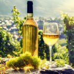 фото белого вина из Эльзаса