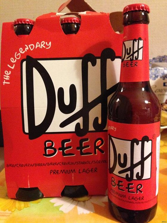 фото бутылки пива Дафф