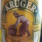 фото этикетки пива Крюгер