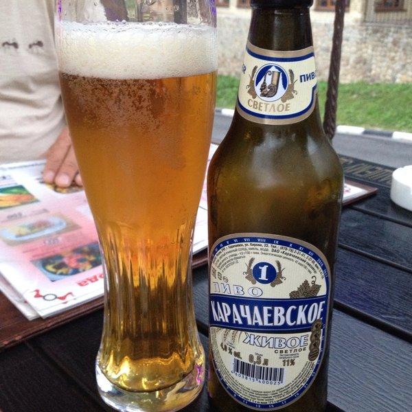 фото пива Карачаевское в бокале