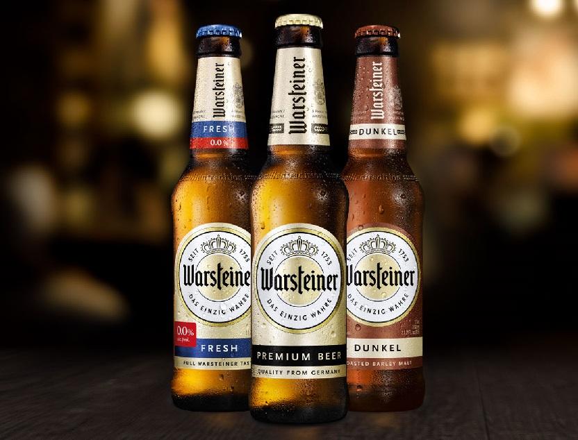 фото ассортимента пива Варштайнер