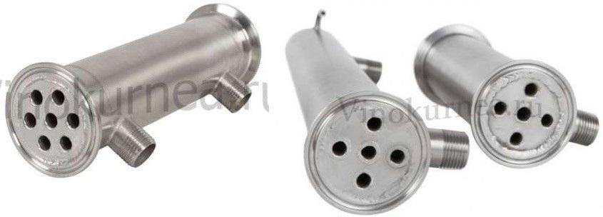 холодильник и дефлегматор дистиллятора Тополь 2.0