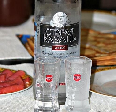 фото бутылки водки Старая Казань