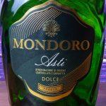 фото этикетки шампанского Мондоро