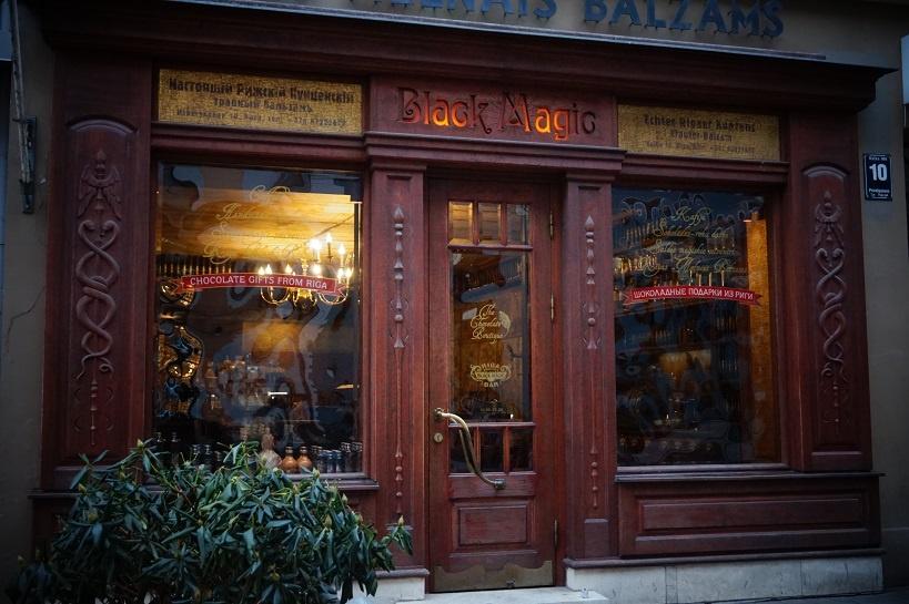 кафе Блэк Меджик в Риге