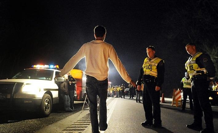 фото проверки водителя на алкогольное опьянение