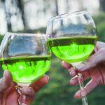 фото вина из зеленого базилика