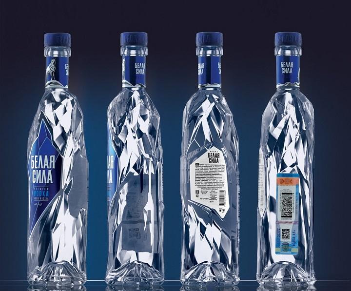 фото бутылки водки белая сила