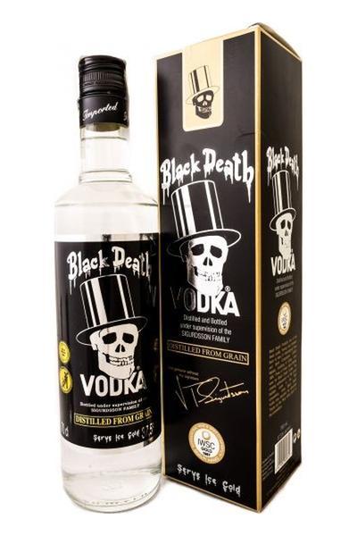 фото бутылки водки черная смерть