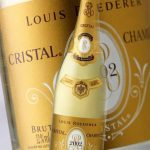 фото этикетки шампанского Кристалл