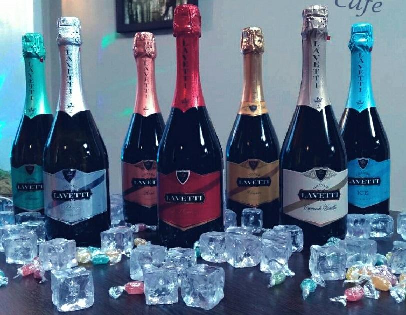 фото ассортимента шампанского Лачетти