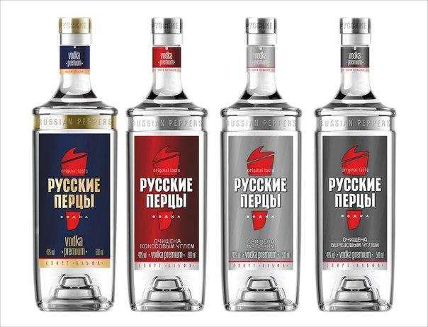 фото видов водки русские перцы
