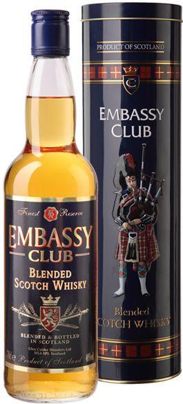 фото бутылки виски эмбаси клаб