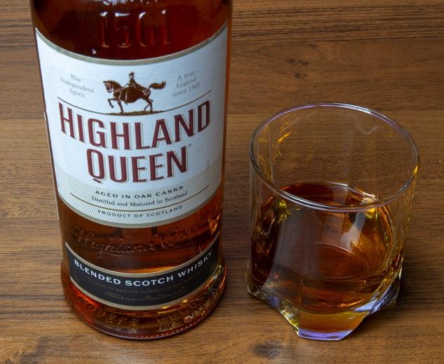 фото бутылки виски Highland Queen