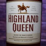 фото этикетки виски Highland Queen