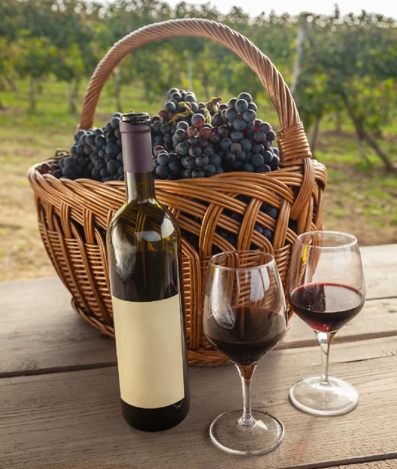 фото красного вина шираз