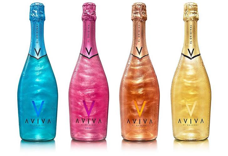 фото шампанского с блестками Авива