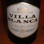 фото этикетки шампанского Вилла Бланка