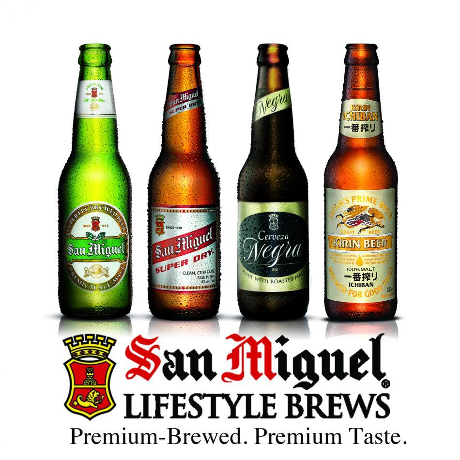 фото ассортимента пива Сан Мигель