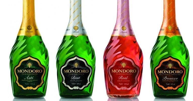 фото ассортимента шампанского мондоро