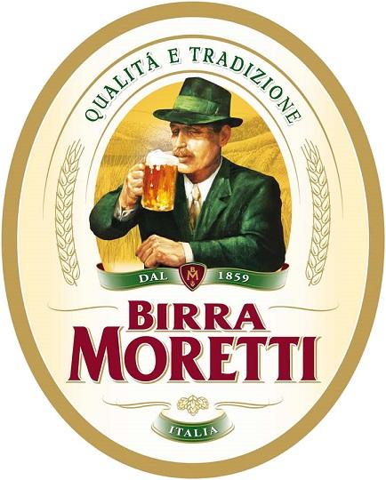фото этикетки пива Бирра Моретти
