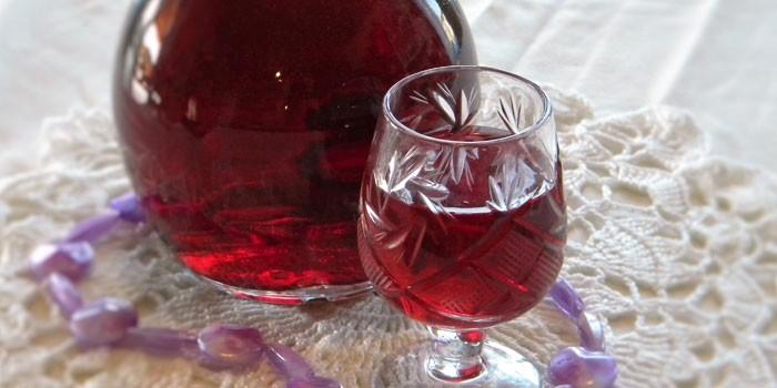 фото фруктовой алкогольной запеканки