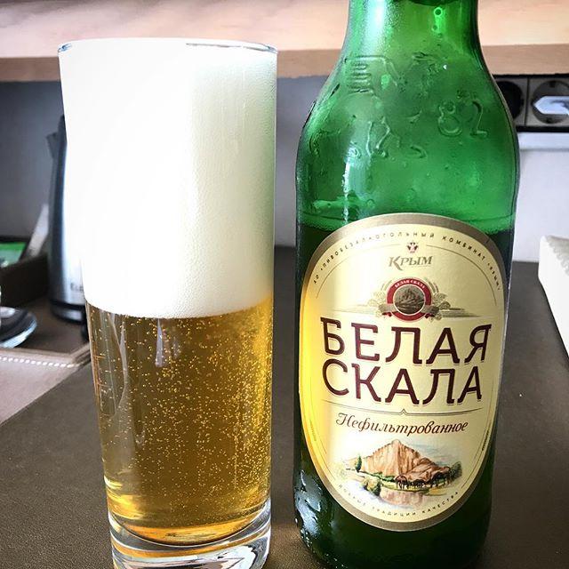 фото пива белая скала