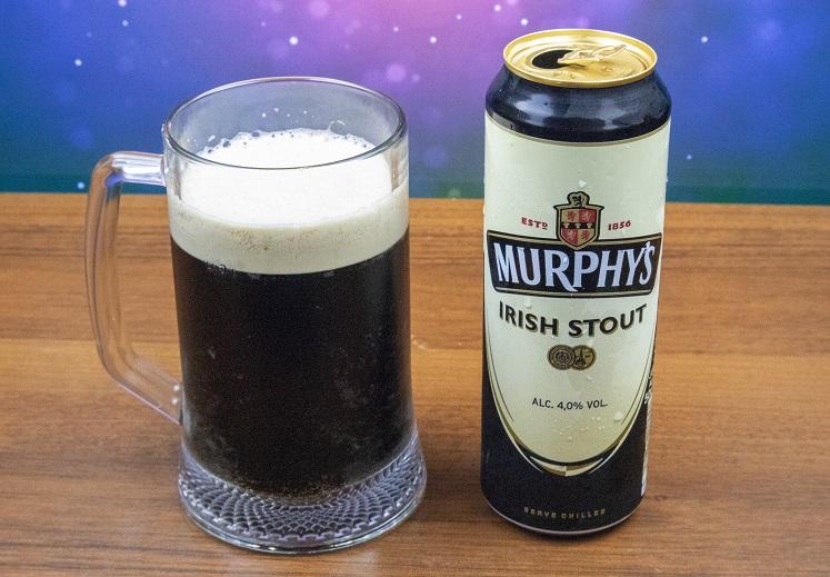 фото ирландского пива Мерфис в бокале
