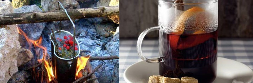 фото как готовить чай охотника ягати