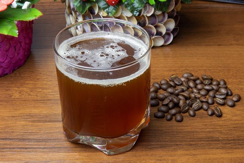 фото кваса из кофе и лимонной кислоты